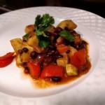 Recept: Vegetarische chili met zoete aardappel
