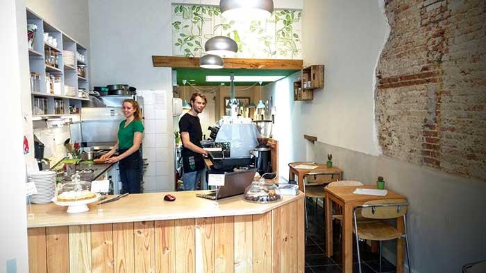 Novia Verde, veganistisch lunchen in Nijmegen