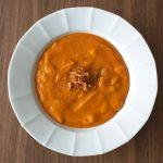 Recept: Zoete aardappelsoep met witte bonen
